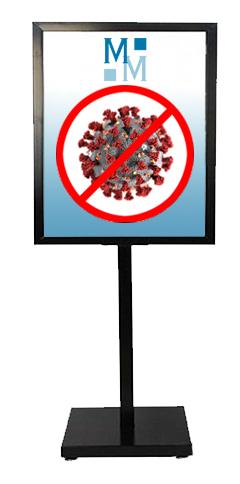 pancarte covid prevention dentiste