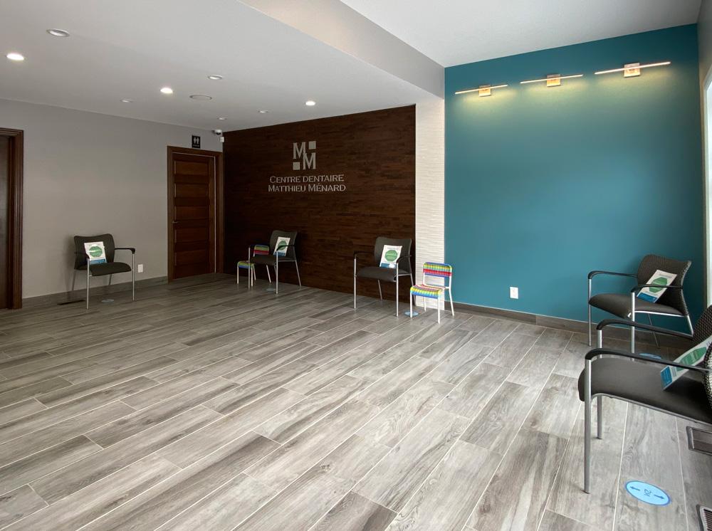 salle-d'attente clinique dentaire CDMM